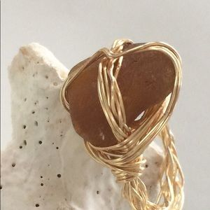 Genuine Seaglass Ring